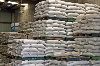 Bags in warehouse